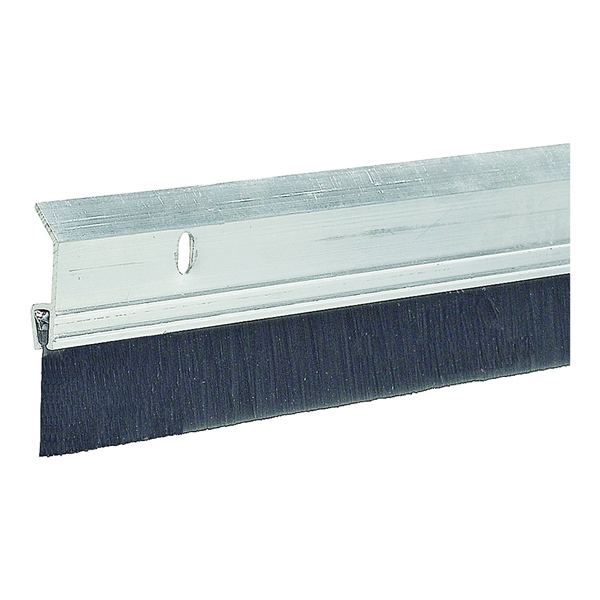 Picture of Frost King SB36 Door Sweep, 36 in L, 2 in W, Aluminum Flange