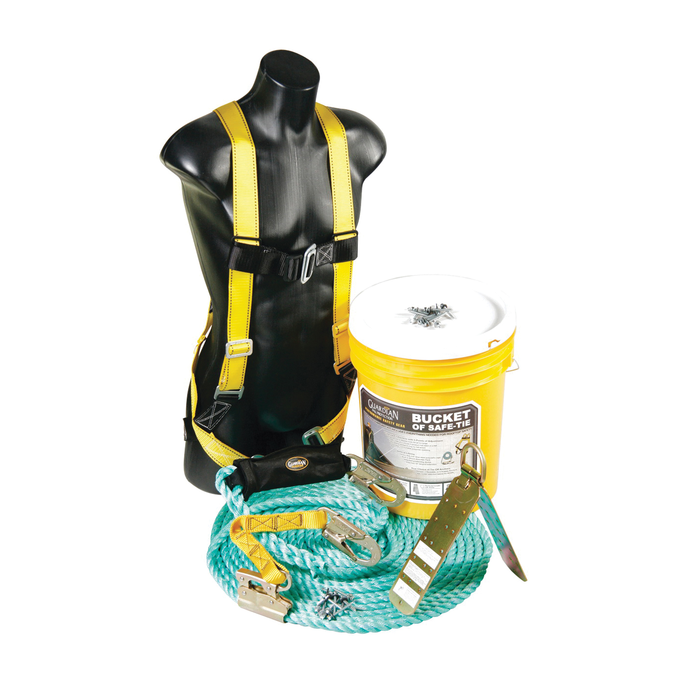 Picture of Qualcraft 00830 Roofers Bucket Kit, 3 -Piece