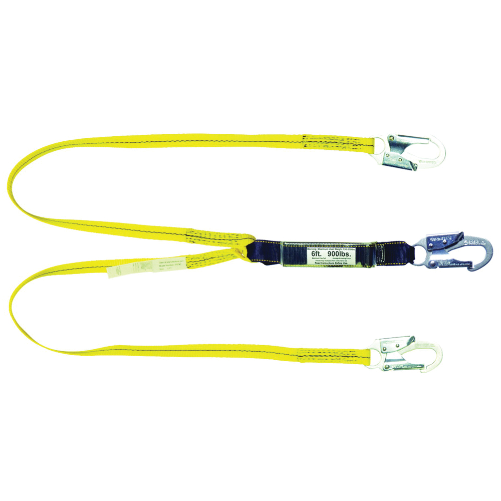 Picture of Qualcraft 01230 Lanyard with High Strength Snap Hooks, 900 lb, Nylon Line