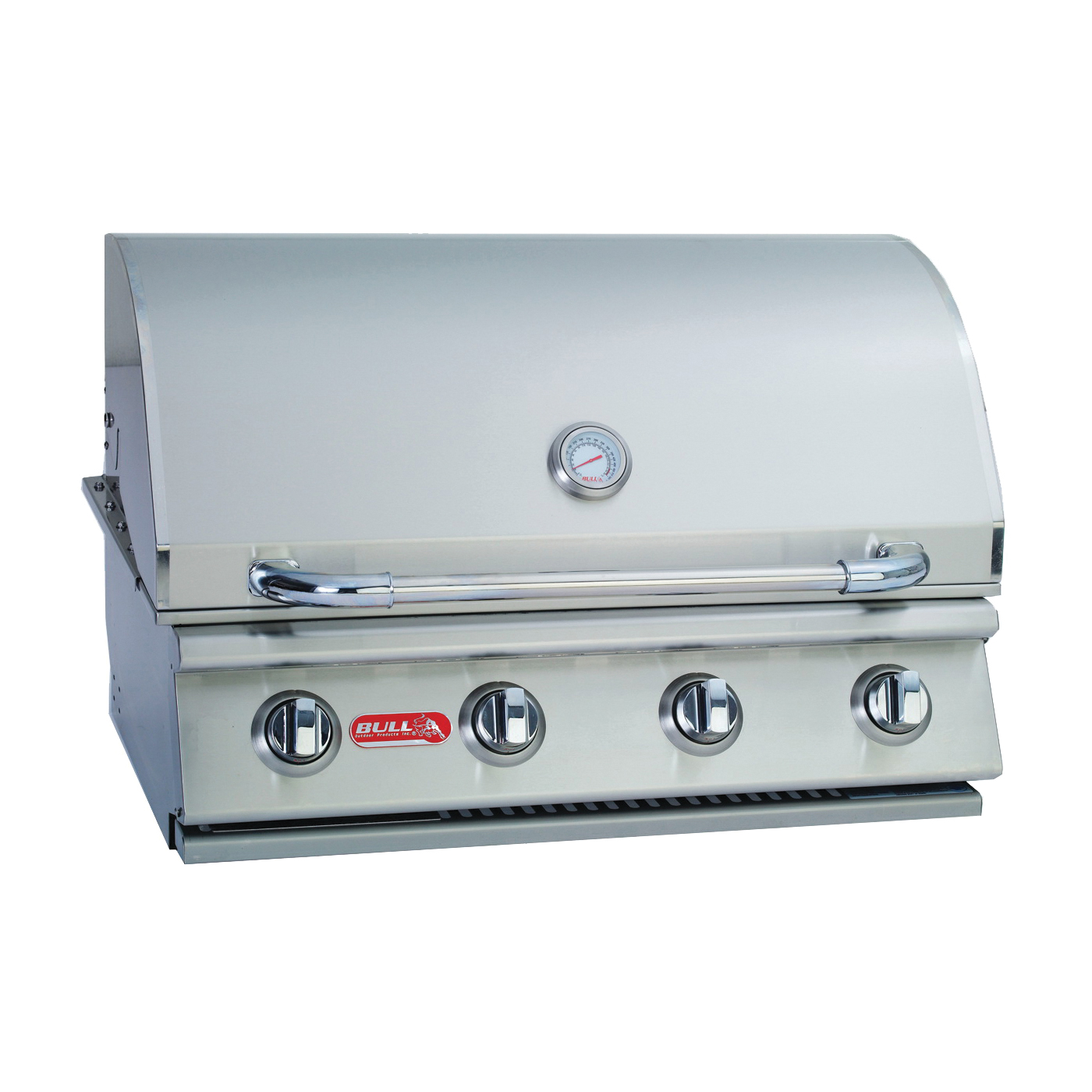Picture of BULL OUTLAW 26038 Gas Grill Head, 60000 Btu BTU, LP, 4 -Burner, 210 sq-in Secondary Cooking Surface