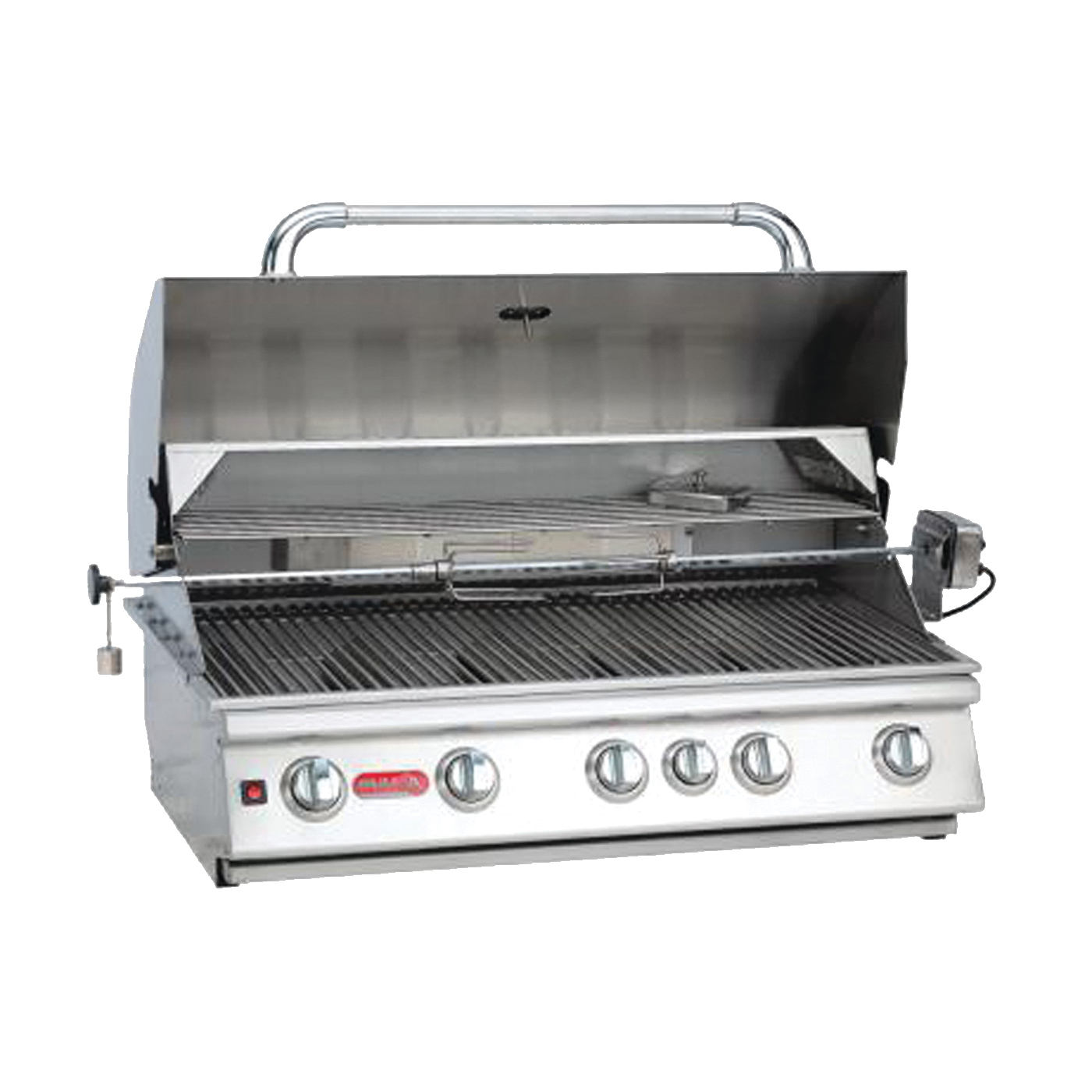 Picture of BULL Brahma 57569 Gas Grill Head, 90000 Btu BTU, Natural Gas, 5 -Burner, 266 sq-in Secondary Cooking Surface