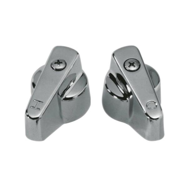 Picture of Danco 80837 Faucet Handle, Zinc, Chrome, For: Universal Two-Handle Faucets