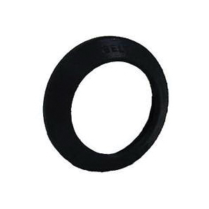 Picture of HUBBELL 5611-0 Weatherproof Lampholder Gasket, 57/64 in Thick, Black, For: Bell 5612-0 Lampholders