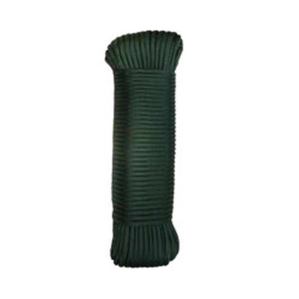 Picture of LEHIGH NPC5503210G Paracord, 5/32 in Dia, 100 ft L, 110 lb Working Load, Nylon, Green, Pack