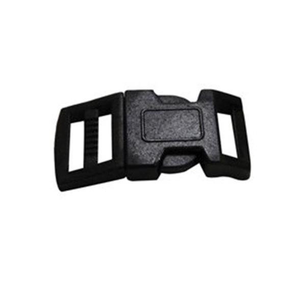 Picture of SecureLine PCBBS Paracord Bracelet Buckle, Plastic, Black