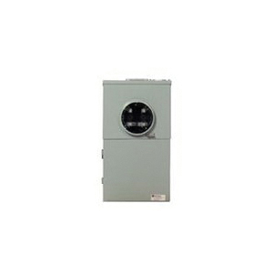 Picture of Cutler-Hammer MBT48B125BTS Meter Breaker, 8-Pole, 125 A, 4-Space, NEMA 3R Enclosure, Surface Mounting