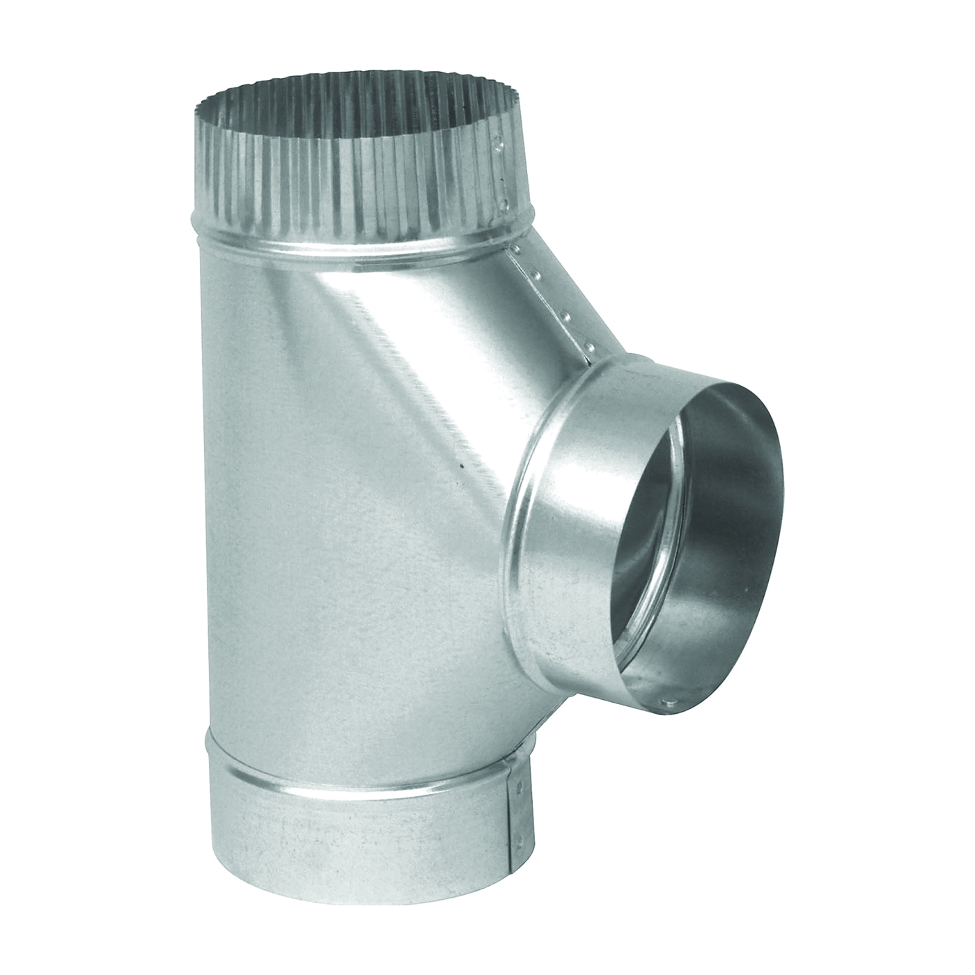 Picture of Imperial GV0899 Tee, 8 in, 26 Gauge, Galvanized Steel