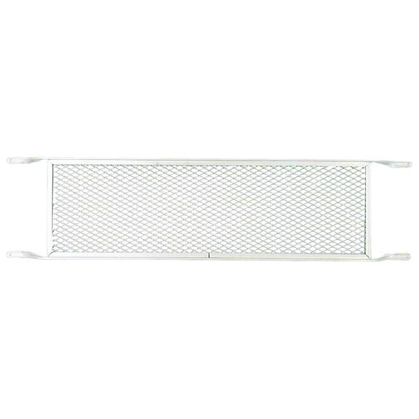 Picture of M-D 33167 Screen Door Push Grill, 7.69 in W, 30-1/4 in H, Aluminum, Mill, For: 32 in Doors