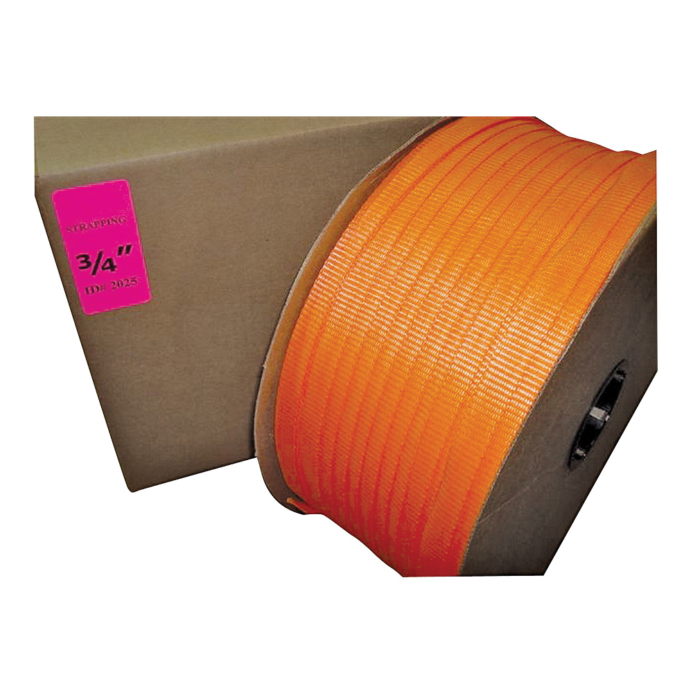 Picture of TransTech SP2025P Strapping Coil, 1650 ft L, 3/4 in W, Polyester