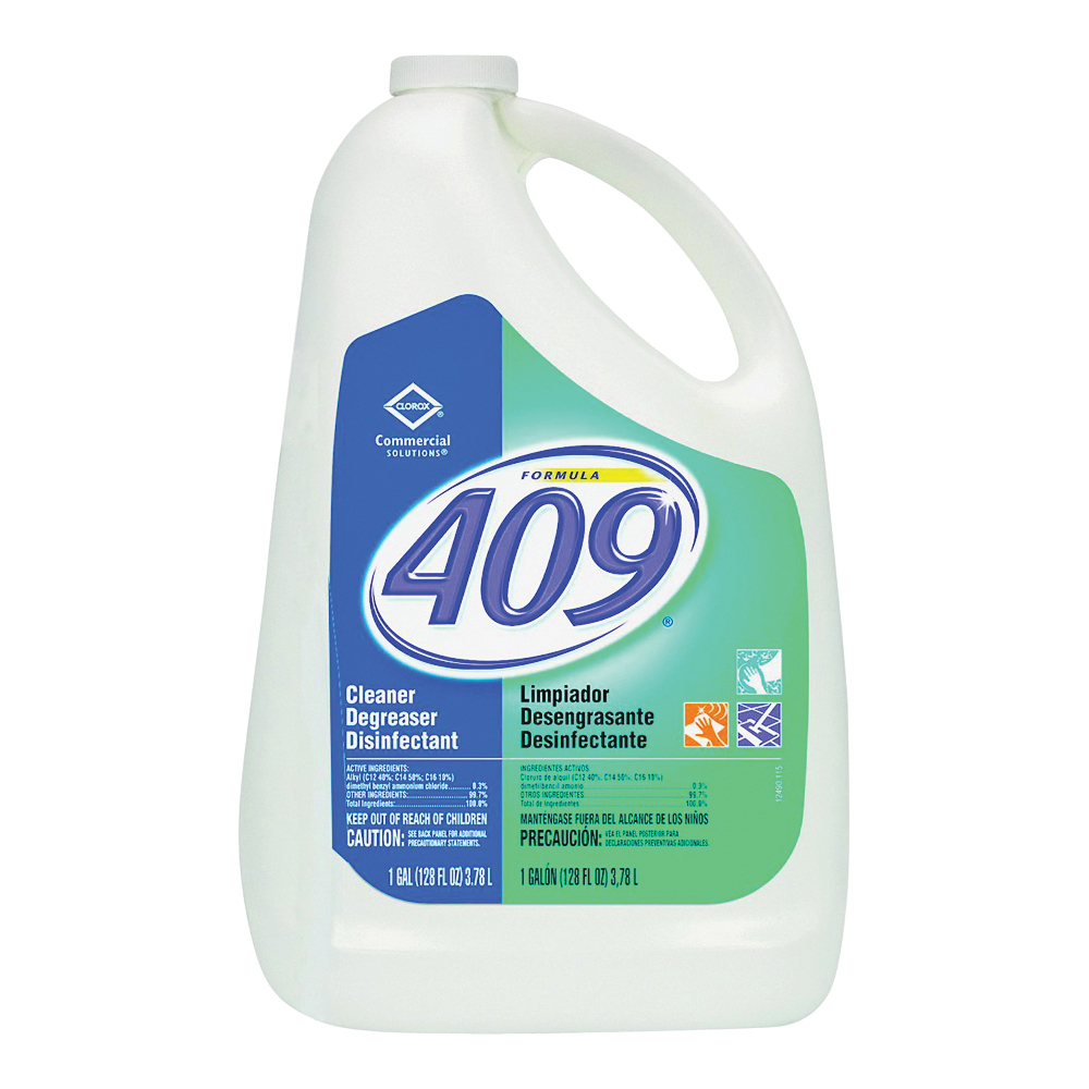 Picture of Clorox 35300 Cleaner/Degreaser Disinfectant, 1 gal Package, Bottle, Liquid, Citrus, Green