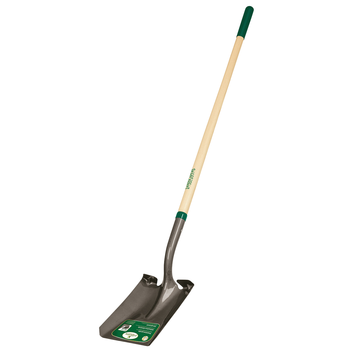 Picture of Landscapers Select 34603 Square Point Shovel, Steel Blade, Wood Handle, 48 in L Handle