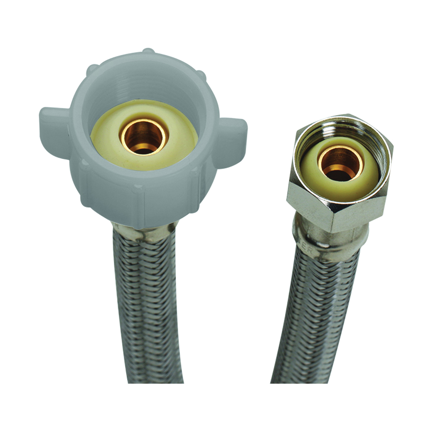 Picture of FLUIDMASTER B3T09 Toilet Connector, 1/2 in Inlet, Compression Inlet, 7/8 in Outlet, Ballcock Outlet, 9 in L