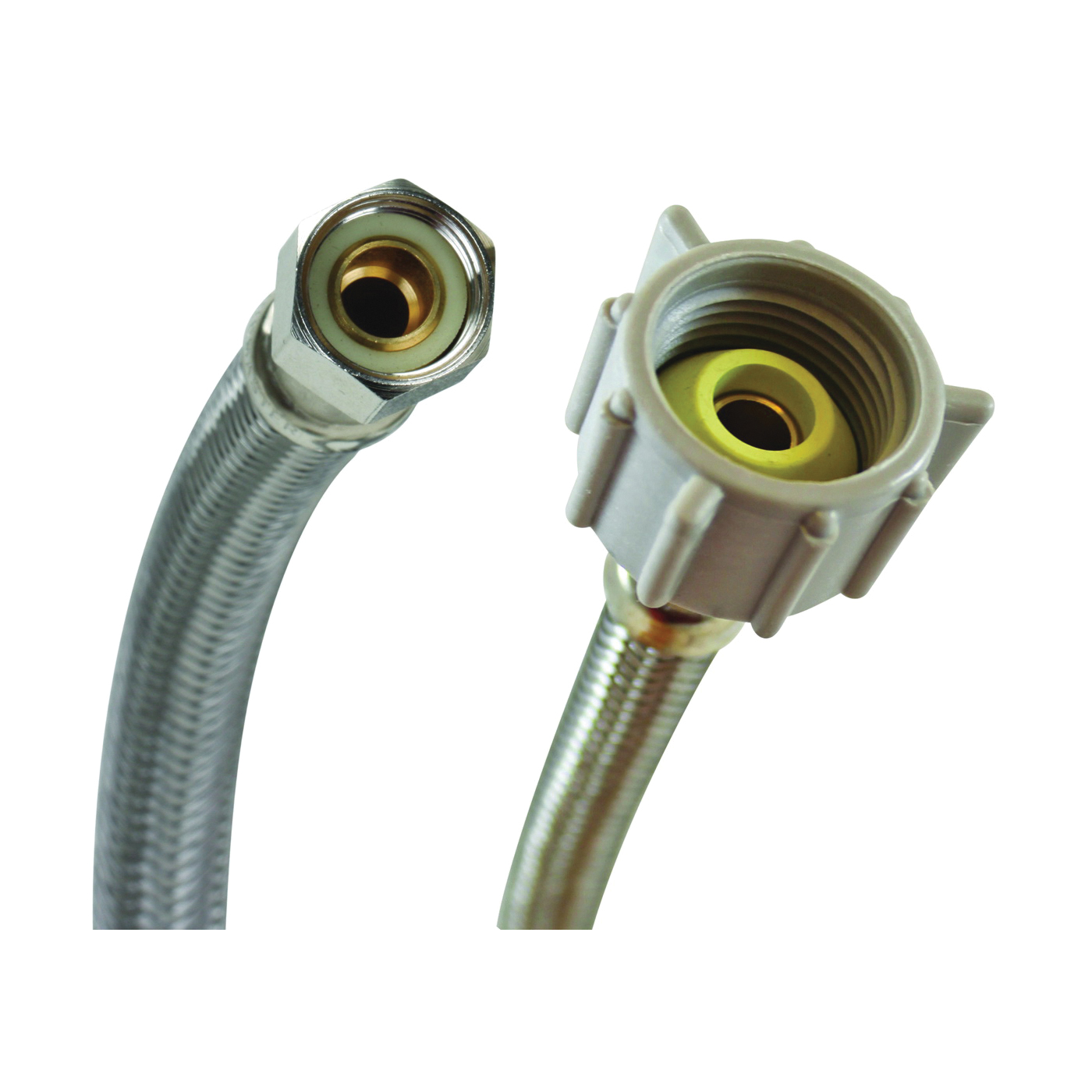 Picture of FLUIDMASTER B1T06 Toilet Connector, 3/8 in Inlet, Compression Inlet, 7/8 in Outlet, Ballcock Outlet, 6 in L