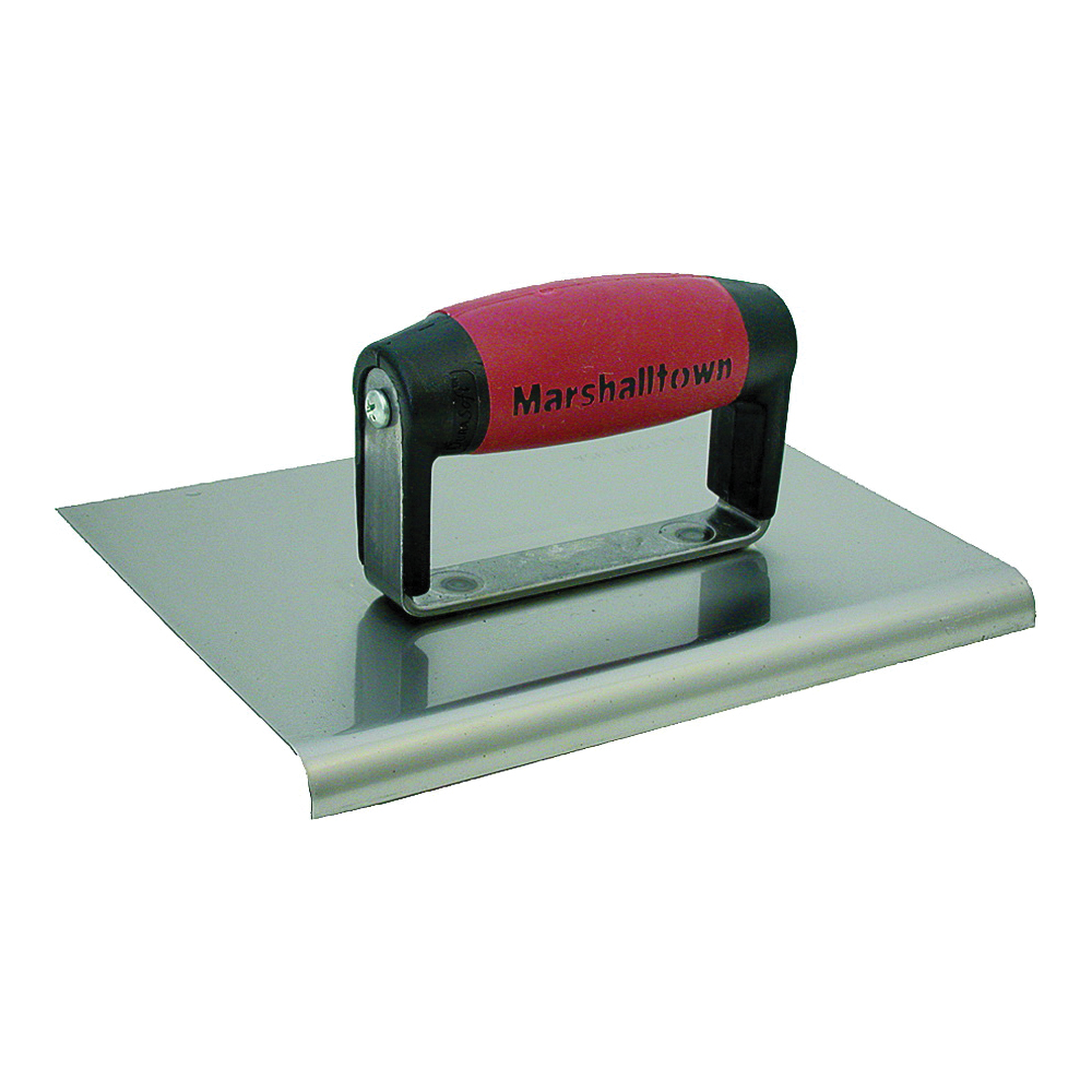 Picture of Marshalltown DuraSoft 162SSD Hand Edger, 6 in L Blade, 6 in W Blade, Stainless Steel Blade, 1/2 in Lip