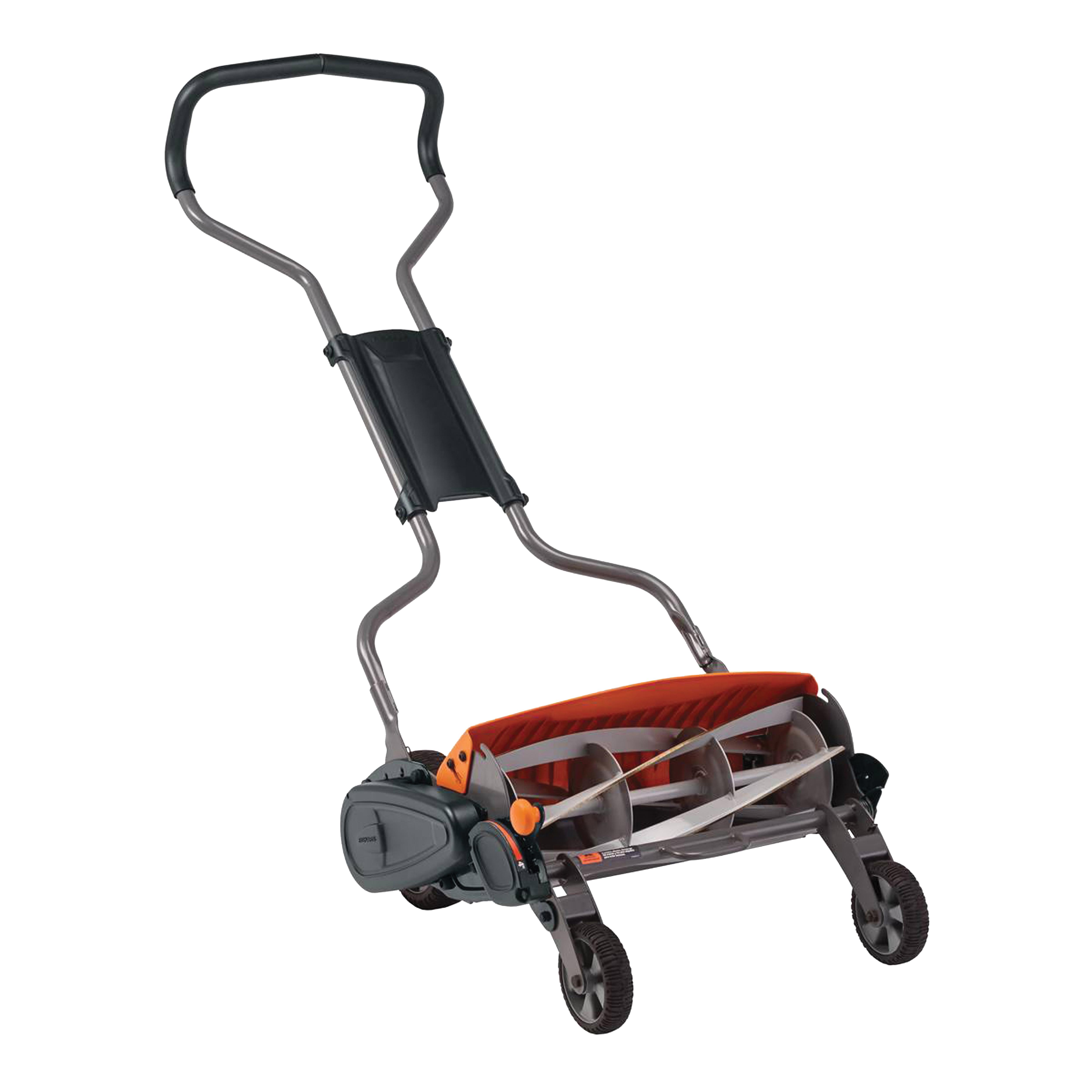 Picture of FISKARS StaySharp 362050-1001 Reel Lawn Mower, 18 in W Cutting, Reel Blade
