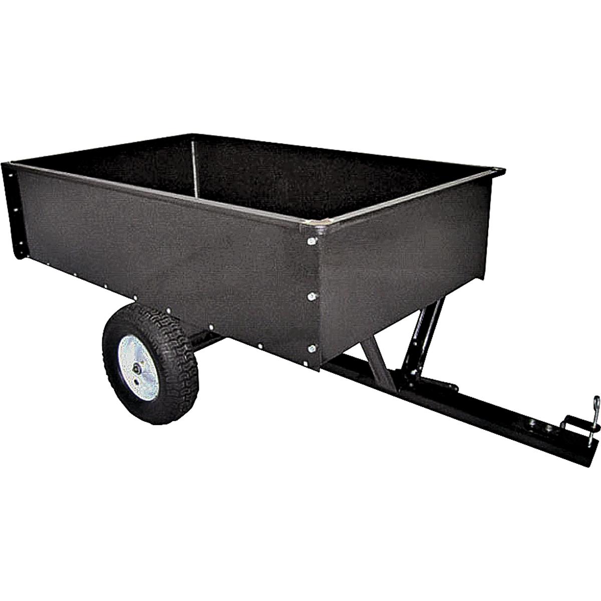 Picture of Vulcan YTL-012-508 Dump Cart, 400 lb, 40-1/2 L x30-3/4 W x 13 H in Deck, Steel Deck, 2 -Wheel, Pneumatic Wheel