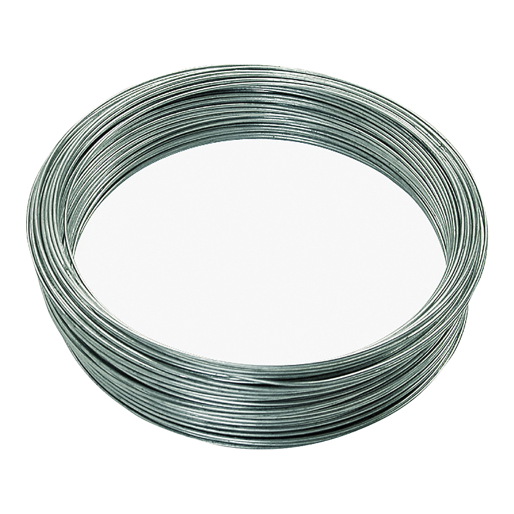 Picture of HILLMAN 50143 Utility Wire, 200 ft L, 16 Gauge, Galvanized Steel