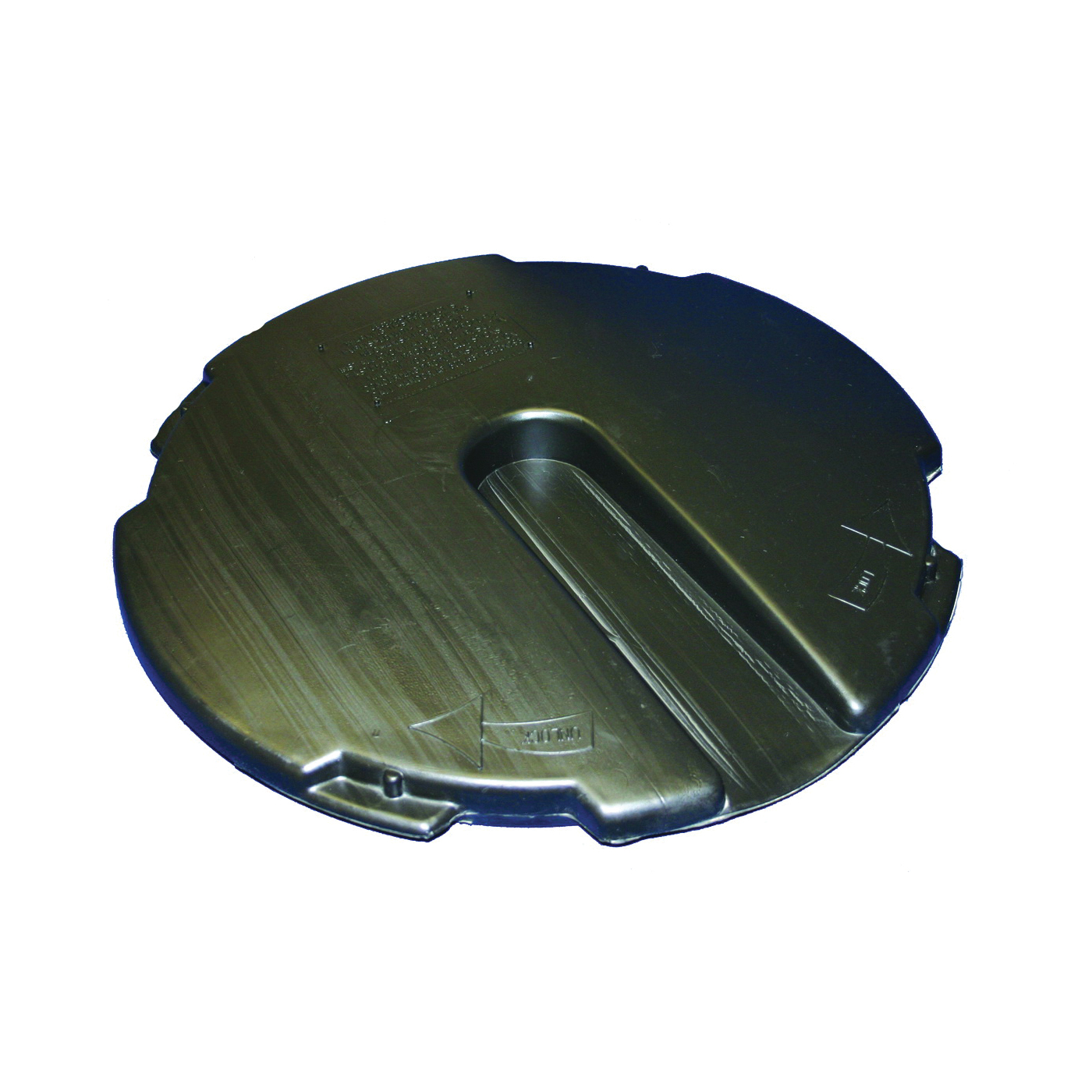Picture of HANCOR 1537ADL Locking Sump Lid, 18 in Dia, HDPE