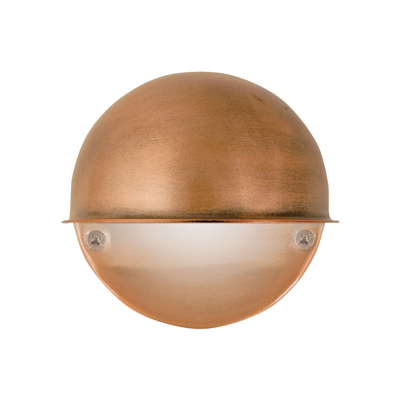 Picture of Moonrays 95734 Deck Light, 12 V, 7 W, 1-Lamp, Incandescent Lamp, Metal Fixture, Antique Copper Fixture