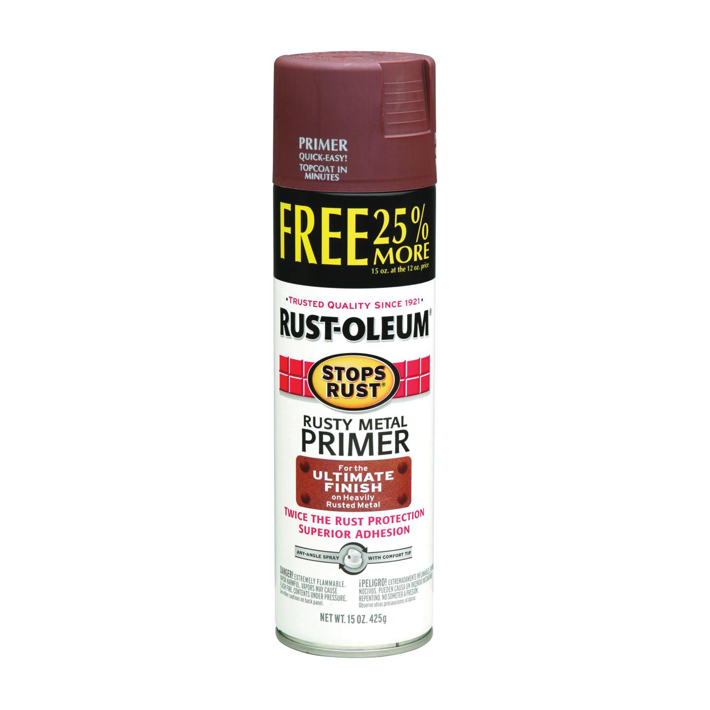 Picture of RUST-OLEUM STOPS RUST 254148 Primer Spray, Rusty Metal, 15 oz