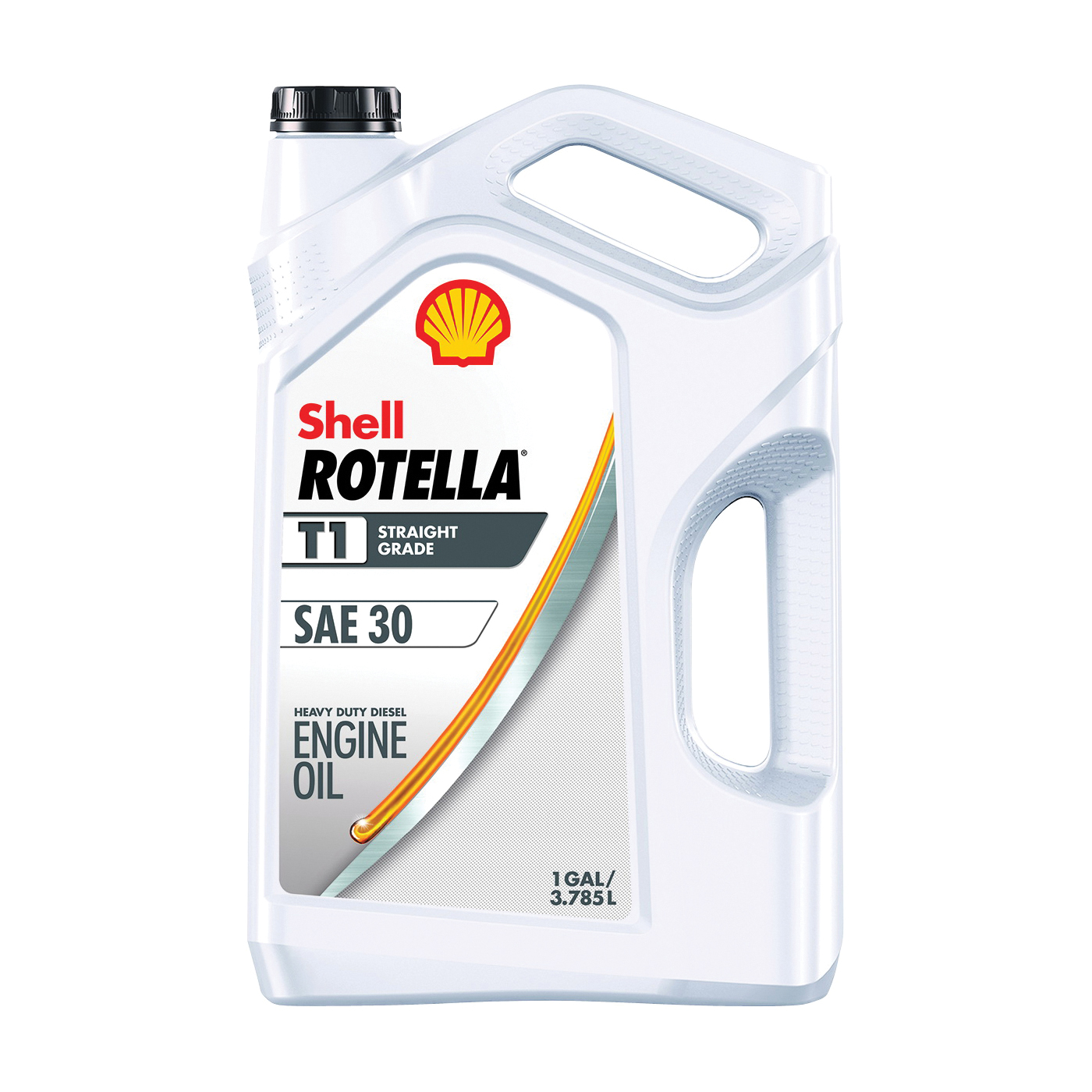 Picture of Shell Rotella 550045380 Engine Oil, 30, 1 gal Package