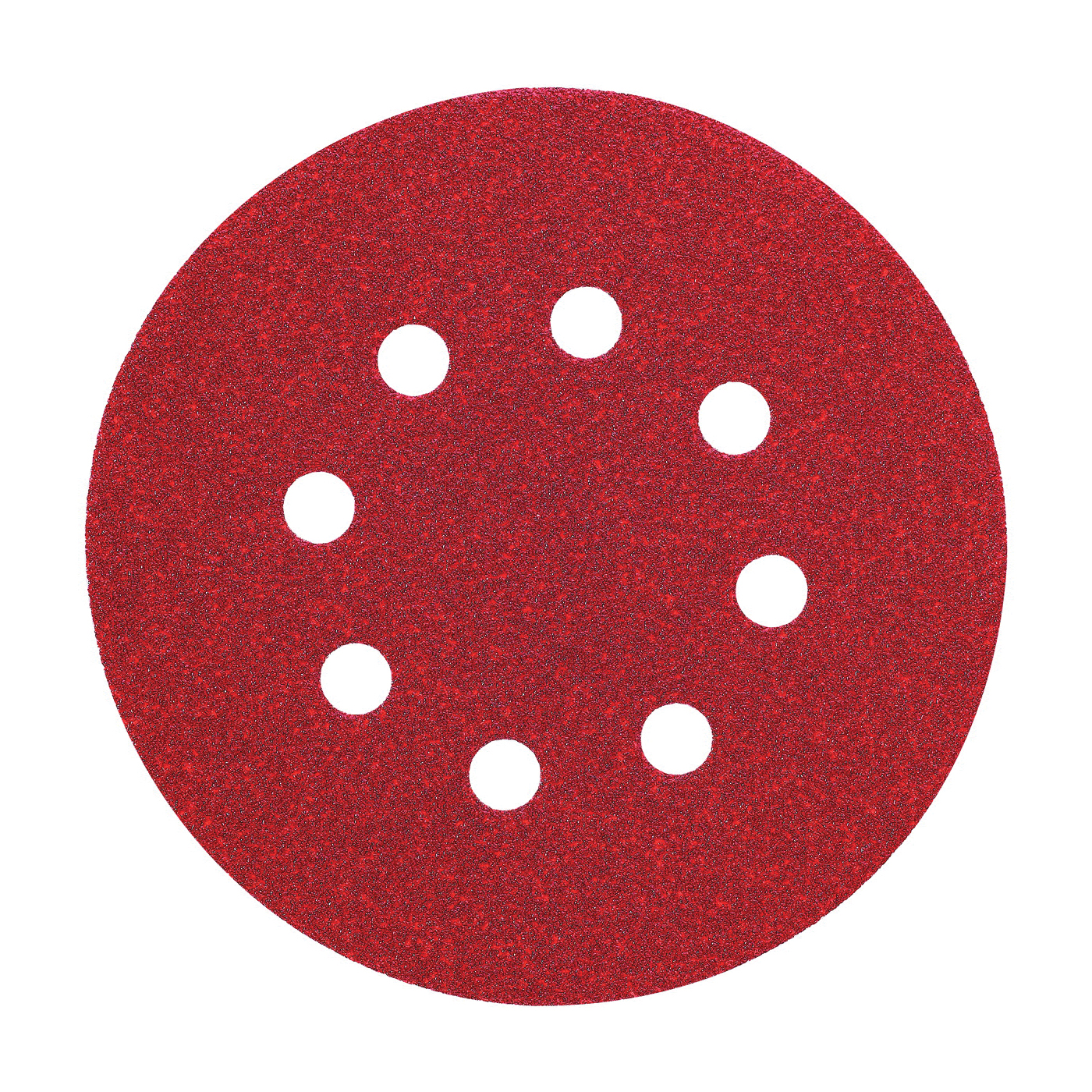 Picture of DeWALT DW4309 Sanding Disc, 5 in Dia, Coated, 80 Grit, Aluminum Oxide Abrasive, Paper Backing, 8-Hole