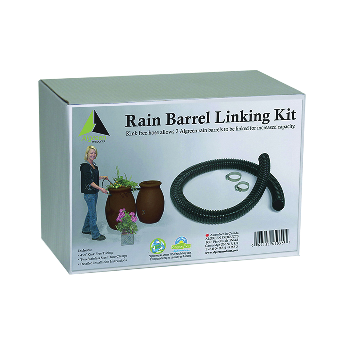 Picture of Algreen 81055 Rain Barrel Link Kit