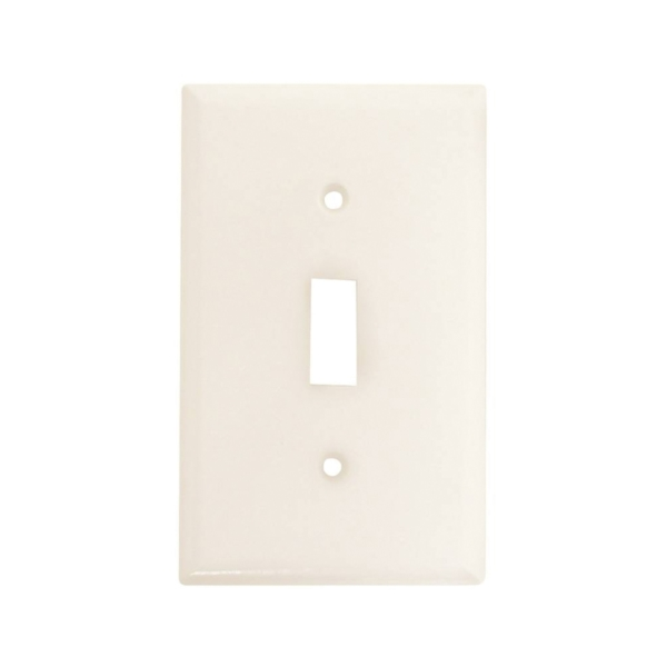 Picture of Arrow Hart 2134W-BOX Wallplate, 4-1/2 in L, 2-3/4 in W, 1-Gang, Thermoset, White, High-Gloss