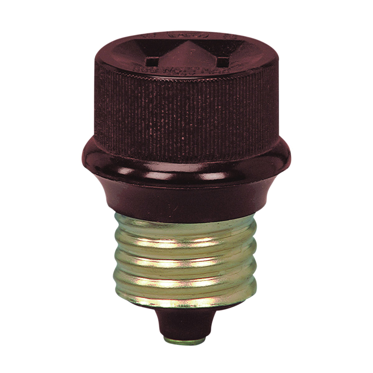 Picture of Eaton Cooper Wiring 808-BOX Socket Adapter, 660 W, 1-Outlet, Brown