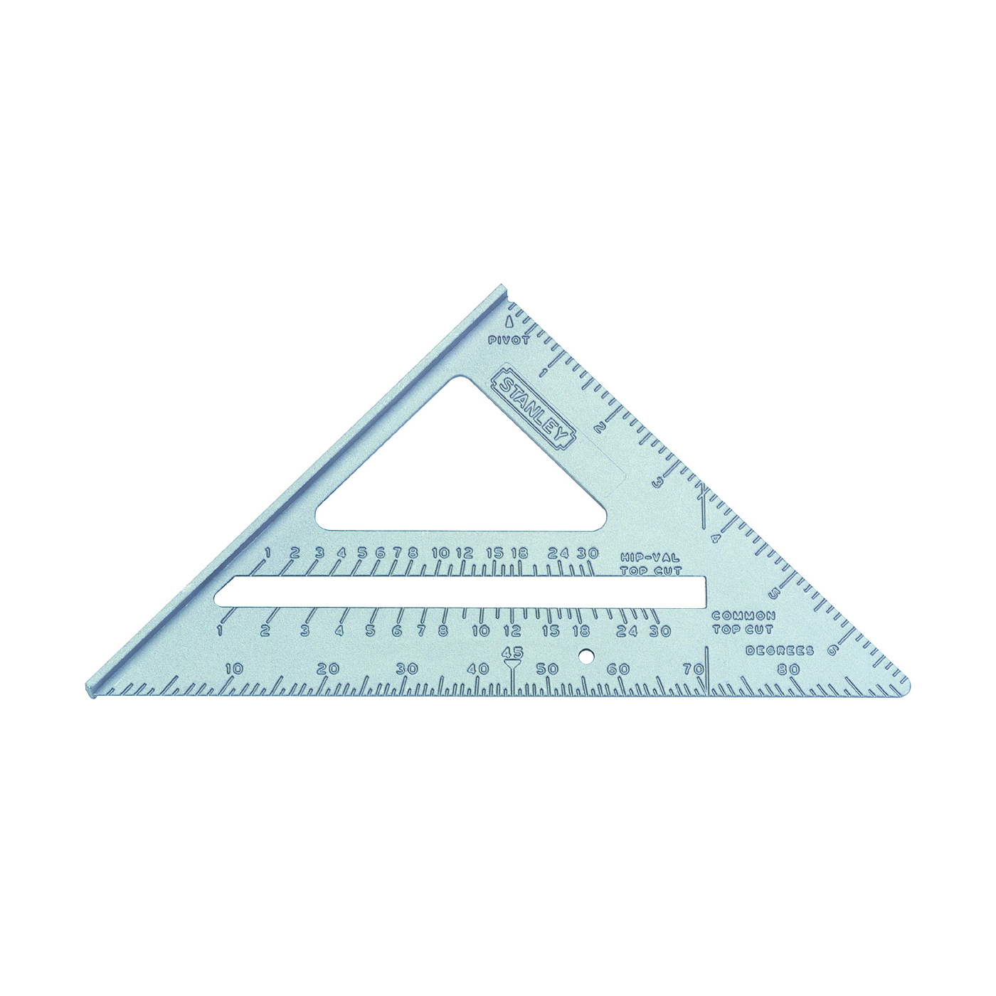 Picture of STANLEY Quick Square 46-067 Layout Tool, SAE Graduation, Aluminum, 6-3/4 in L