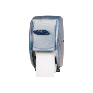 Picture of NORTH AMERICAN PAPER R3590TBK Double Roll Bathroom Tissue Dispenser, Plastic
