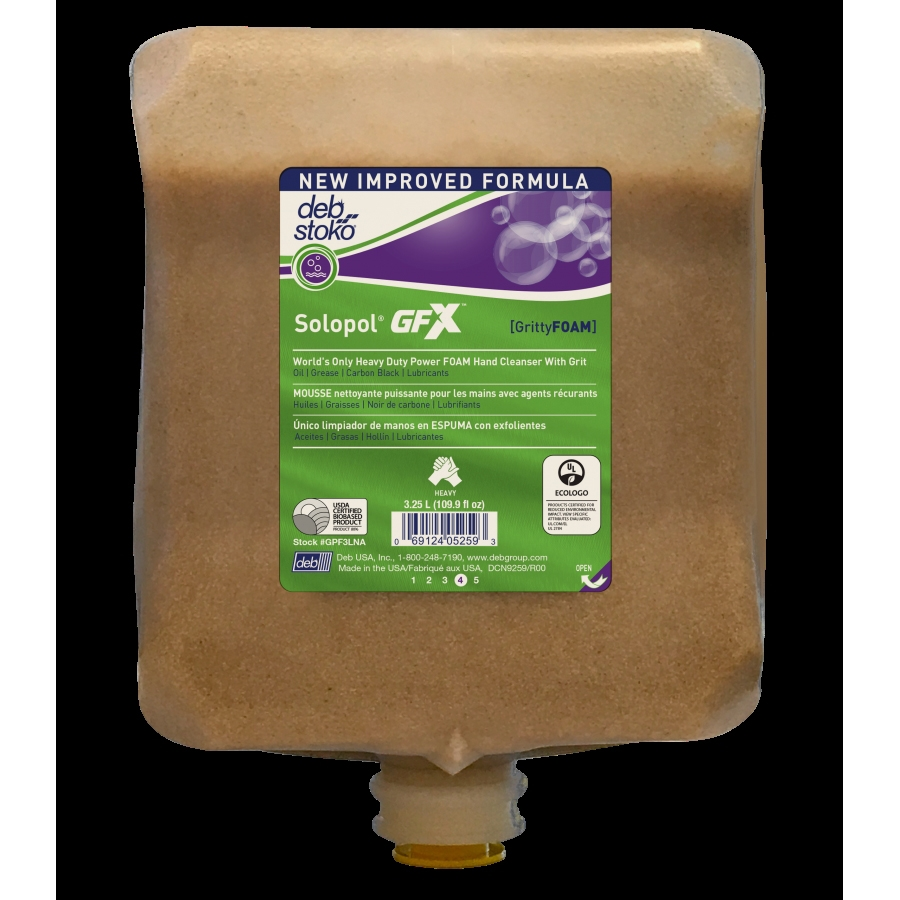 Picture of NORTH AMERICAN PAPER GPF3LNA Hand Soap, Liquid, Beige Yellow, Characteristic, 3.25 L Package