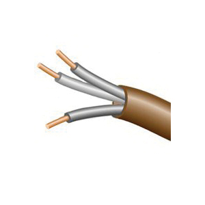 Picture of CCI 553036607 Thermostat Wire, 18 AWG Wire, 3-Conductor, Copper Conductor, Polypropylene Insulation, PVC Sheath