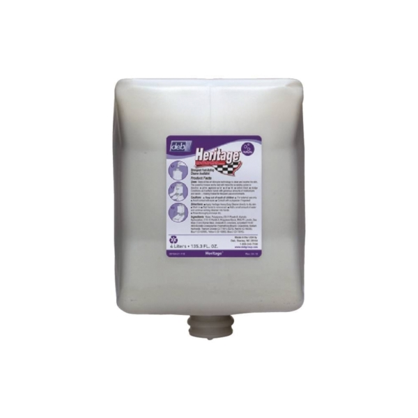 Picture of NORTH AMERICAN PAPER 9104 Hand Cleaner, Liquid, Gray, Fragrant, 4 L Package, Cartridge
