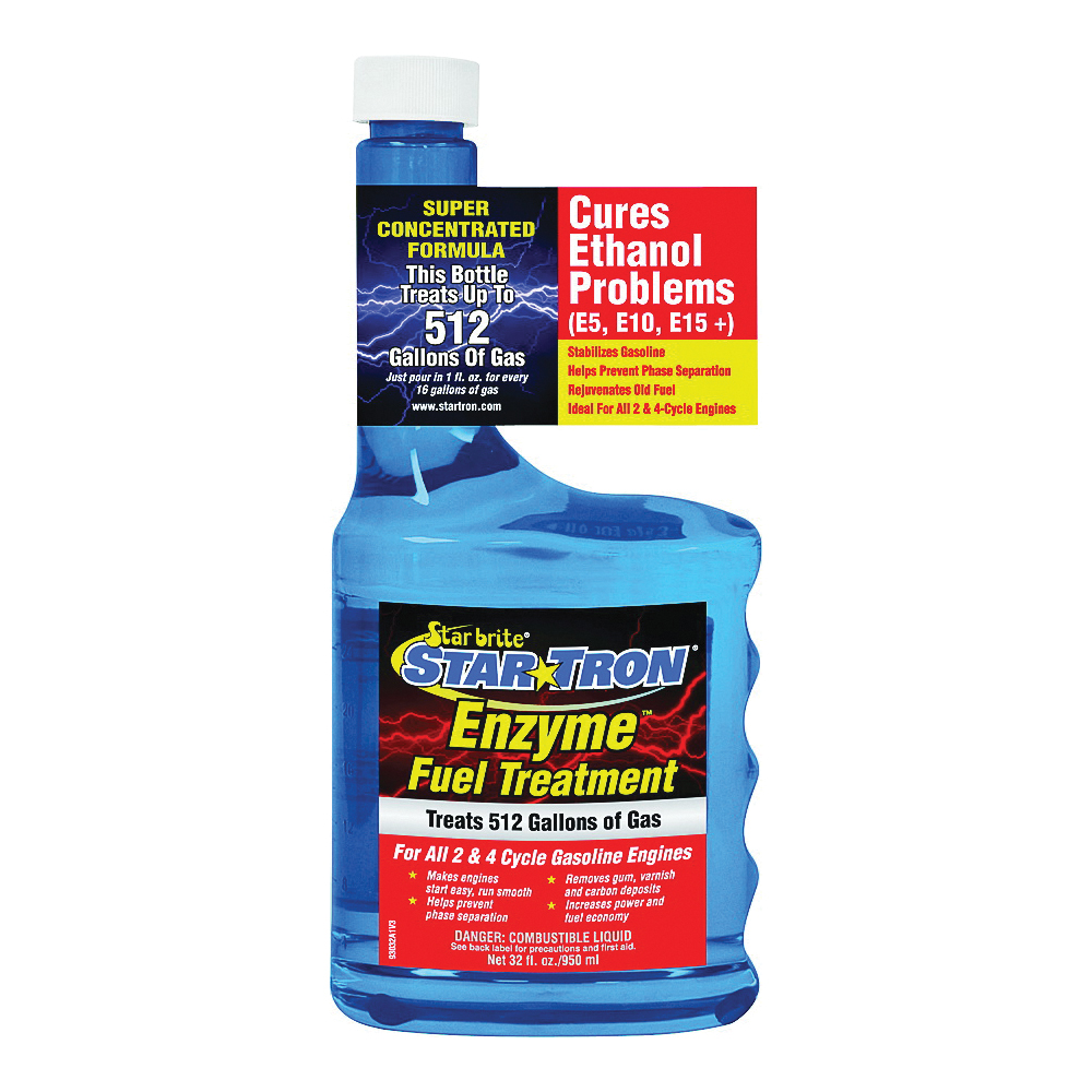 Picture of Star brite Star Tron 93032 Enzyme Fuel Treatment Clear, 32 oz Package, Bottle
