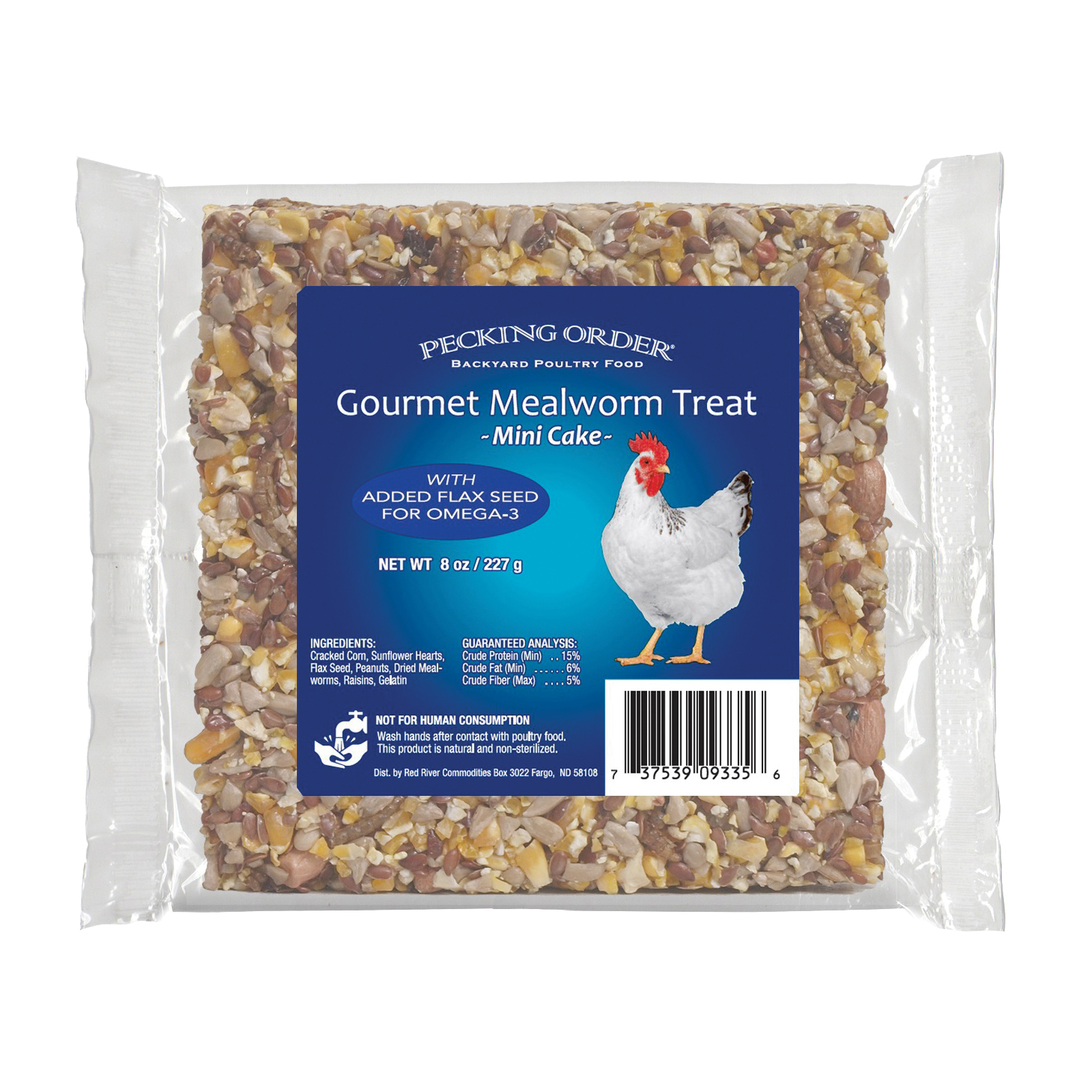Picture of Pecking Order 009327 Chicken Mealworm Treat, 8 lb Package, Bag
