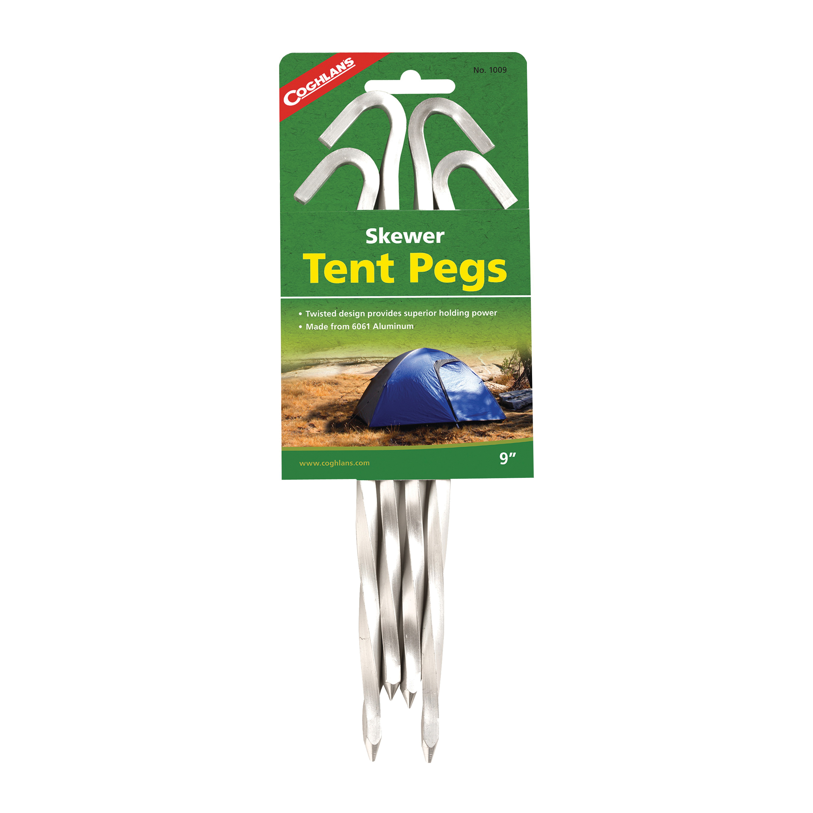 Picture of COGHLAN'S 1009 Skewer Peg, 9 in L, Aluminum