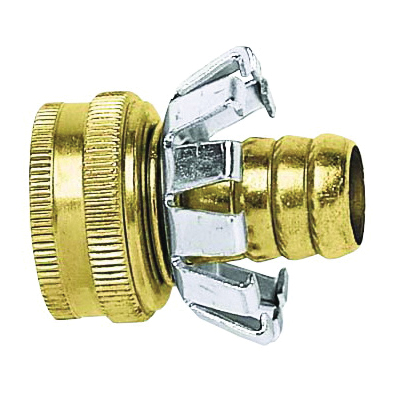 Picture of Gilmour C58F Hose Repair Coupler, 5/8 in, Female, Brass