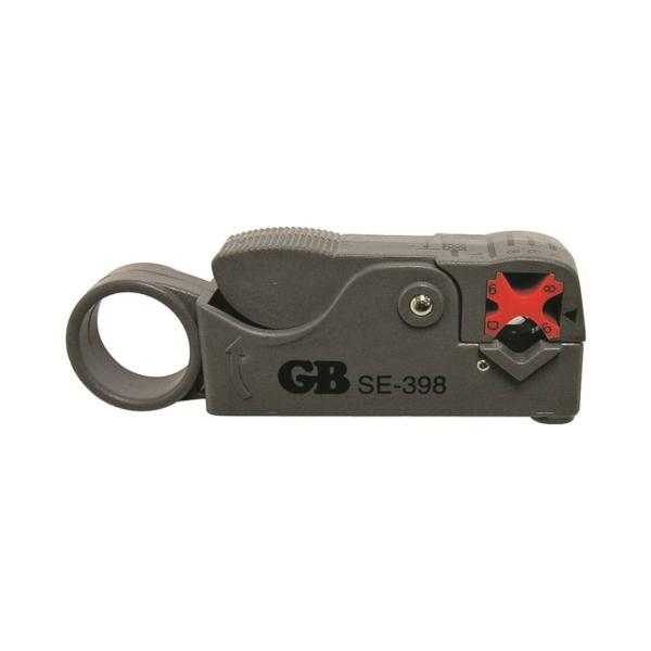 Picture of GB SE-398 Coaxial Cutter and Stripper, 6-1/4 in OAL