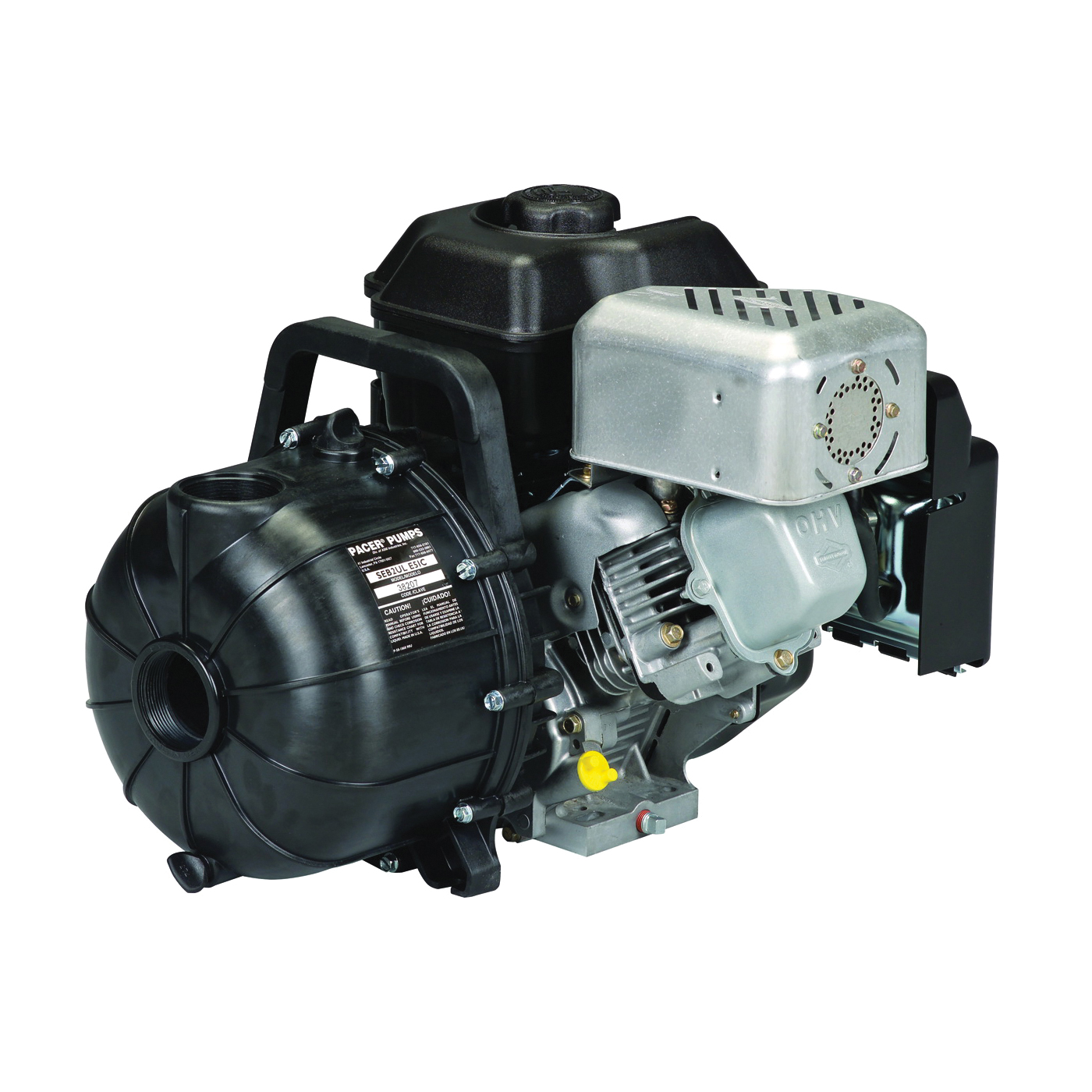 Picture of PACER PUMPS S Series SE2ULE950 Centrifugal Pump, 5.5 hp, 2 in Outlet, 130 ft Max Head, 190 gpm