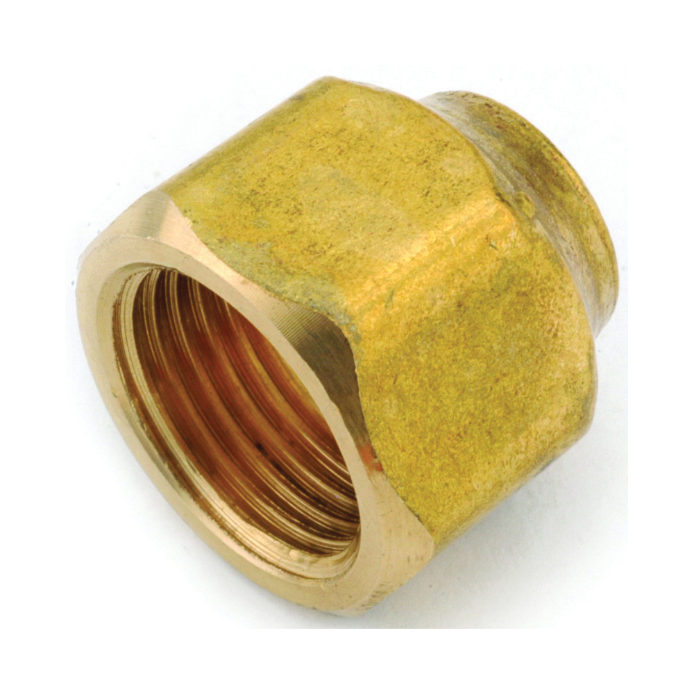 Picture of Anderson Metals 754020-0806 Flare Nut, 1/2 x 3/8 in, Flare, Brass
