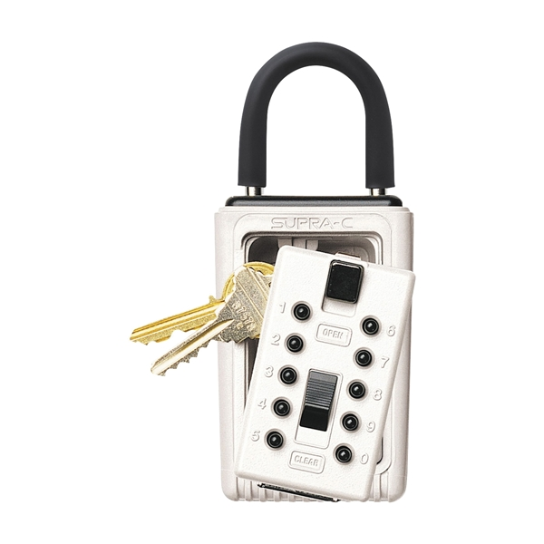 Picture of Kidde 001000 Key Safe, Combination Lock, Metal, Assorted, 2 in W x 2-3/4 in D x 6 in H Dimensions