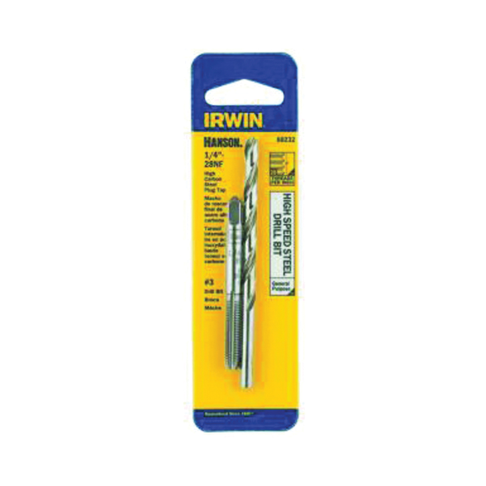 Picture of IRWIN 80232 Tap and Drill Bit Set, HCS/HSS