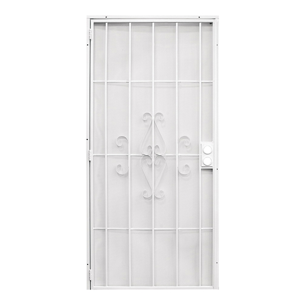 Picture of Precision Regal 3818WH2868 Door Screen, 80 in L, 32 in W, Steel, White
