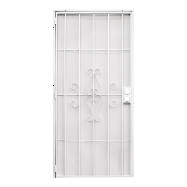 Picture of Precision Regal 3818WH3068 Door Screen, 80 in L, 36 in W, Steel, White