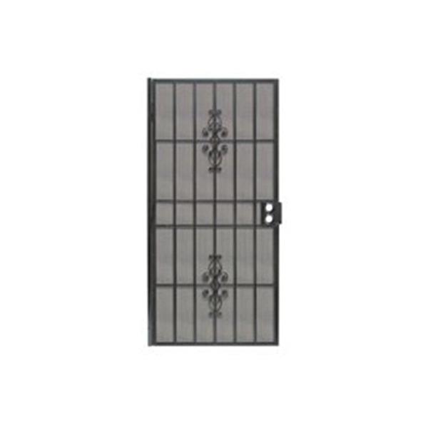 Picture of Precision Flagstaff 3853BK3068 Door Screen, 80 in L, 36 in W, Steel, Black