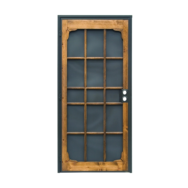 Picture of Precision Woodguard 3809 Series 3809BZ3068-I Door Screen, 80 in L, 36 in W, Wood