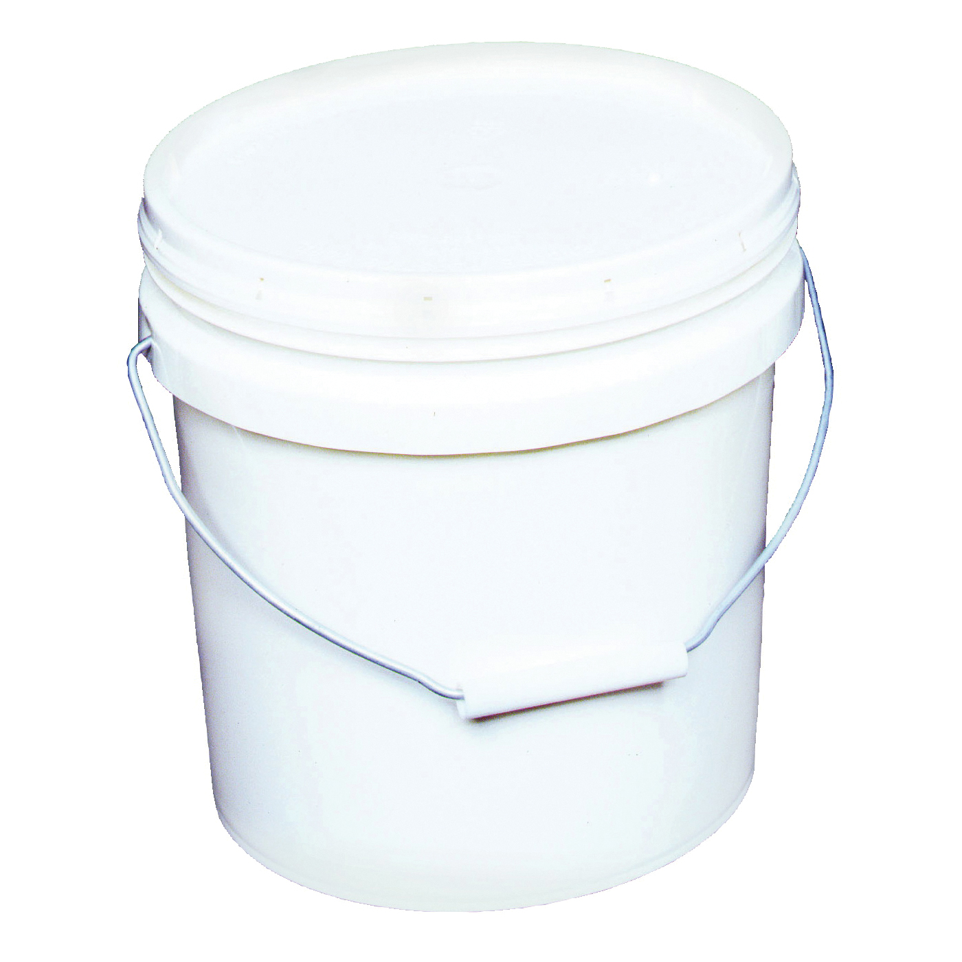Picture of ENCORE Plastics 20256 Paint Pail, 2 gal Capacity, HDPE, White