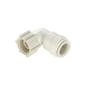 Picture of Watts 3520-1008/P-635 Swivel Elbow, 1/2 in, 1/2 in, 90 deg, Off-White