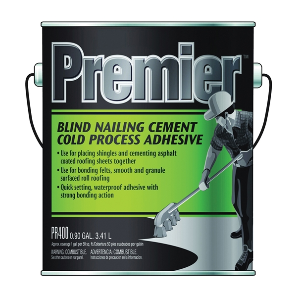 Picture of Henry PR400042 Adhesive Cement, Liquid, Paste, Petrol, Black, 1 gal Package